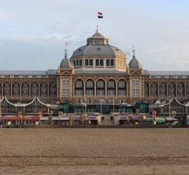 1920's Hotel and the beach in The Hague